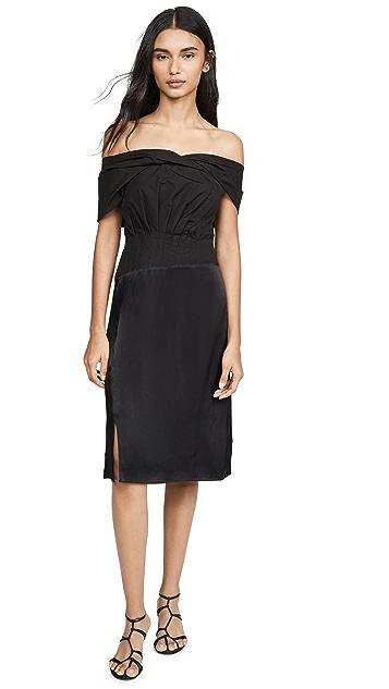 3.1 Phillip Lim Side Shoulder Mini Dress