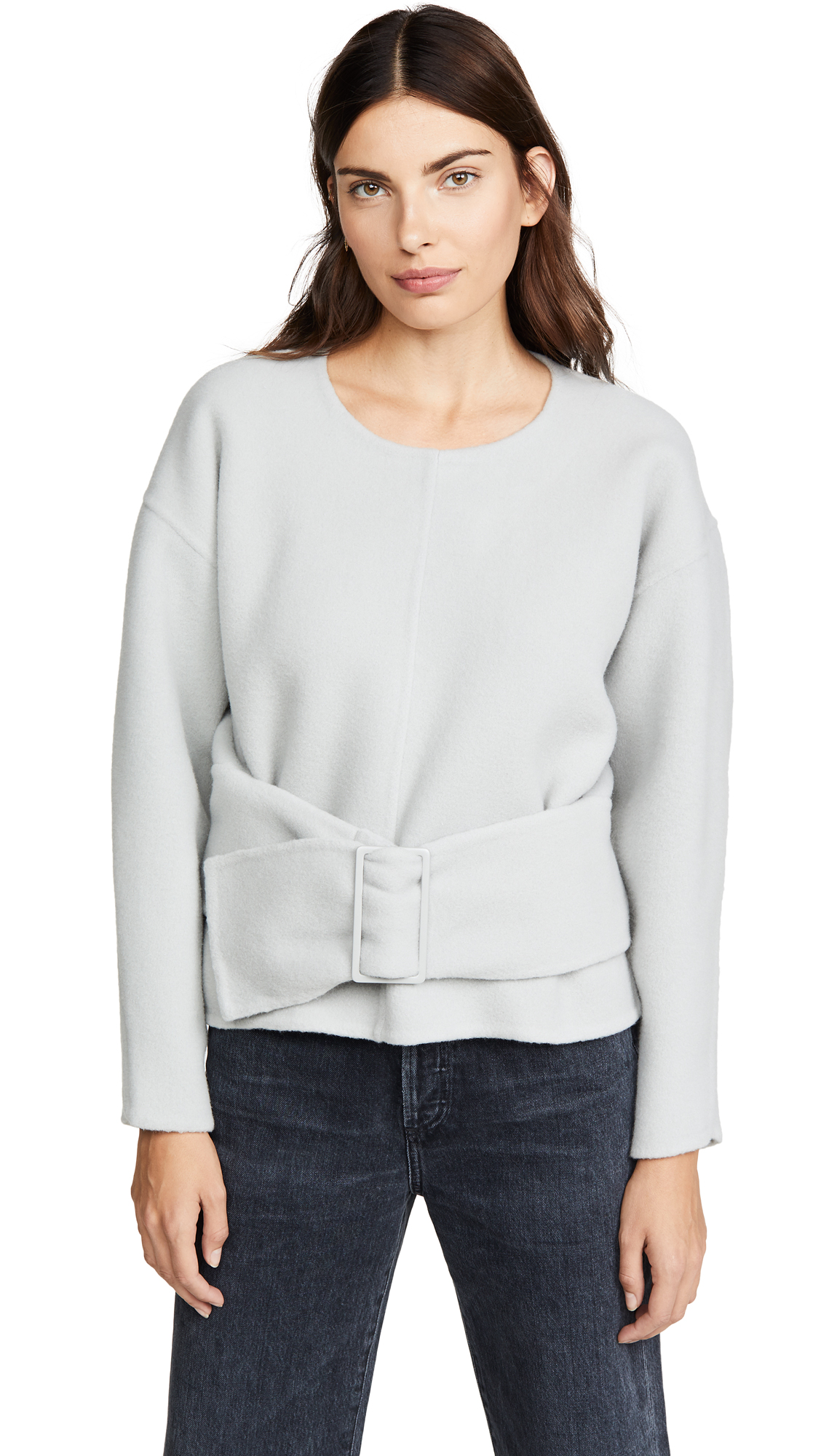 Buy 3.1 Phillip Lim online - photo of 3.1 Phillip Lim Long Sleeve Pullover with Belt
