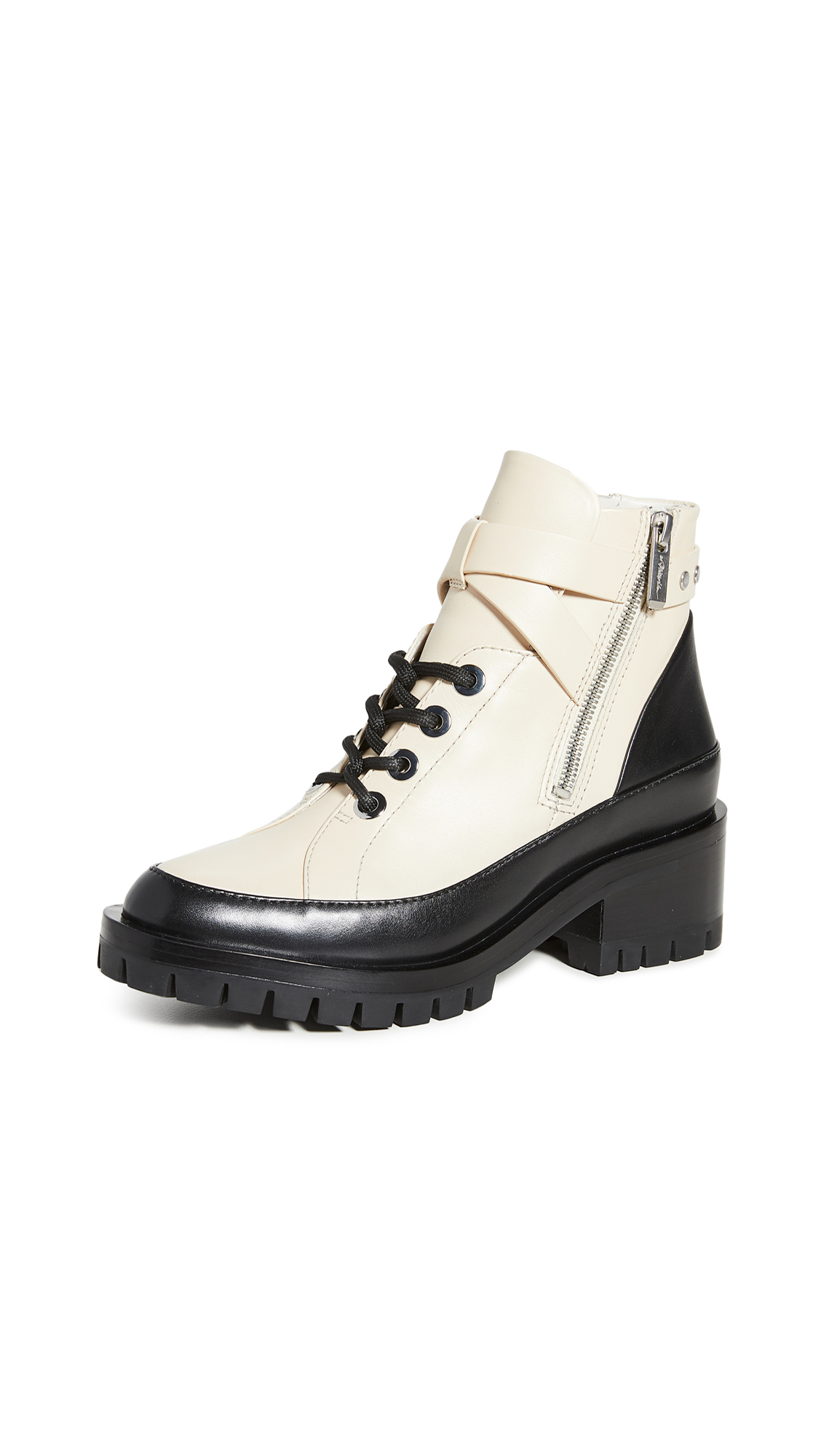 Buy 3.1 Phillip Lim online - photo of 3.1 Phillip Lim Hayett 50mm Lace Up Boots