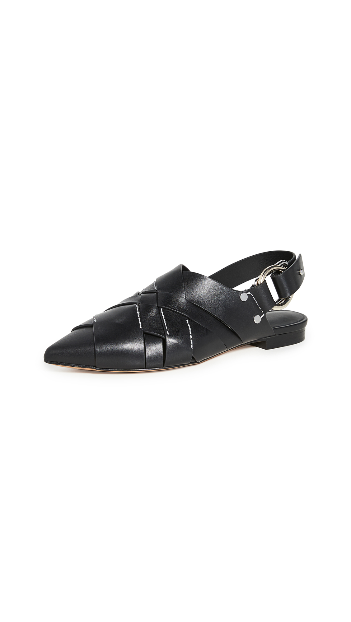 Buy 3.1 Phillip Lim online - photo of 3.1 Phillip Lim Deanna Woven Pointy Flats