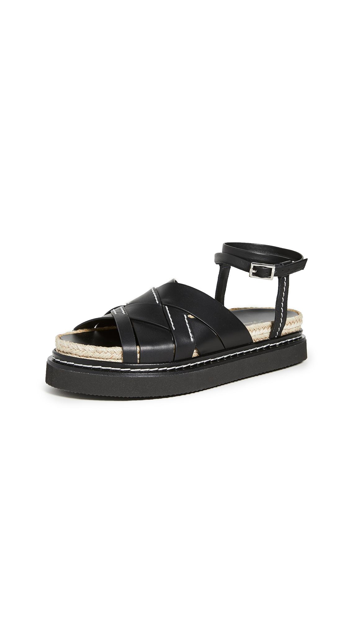 Buy 3.1 Phillip Lim online - photo of 3.1 Phillip Lim Yasmine Espadrille Platform Sandals
