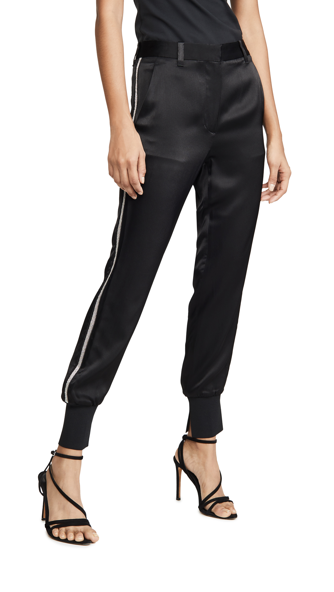 Buy 3.1 Phillip Lim online - photo of 3.1 Phillip Lim Joggers with Rib Side Panel