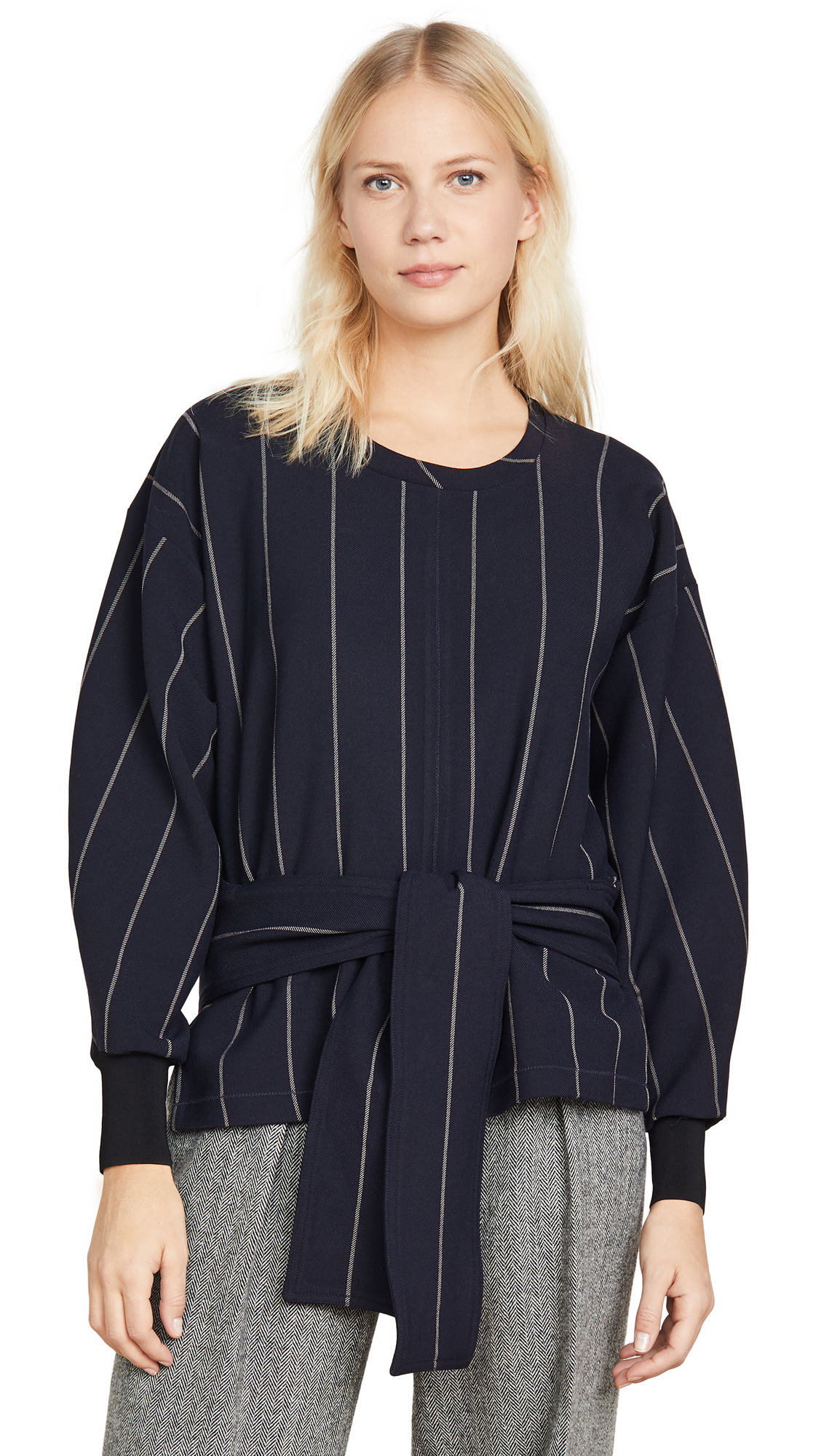 Buy 3.1 Phillip Lim online - photo of 3.1 Phillip Lim Long Sleeve Striped Pullover