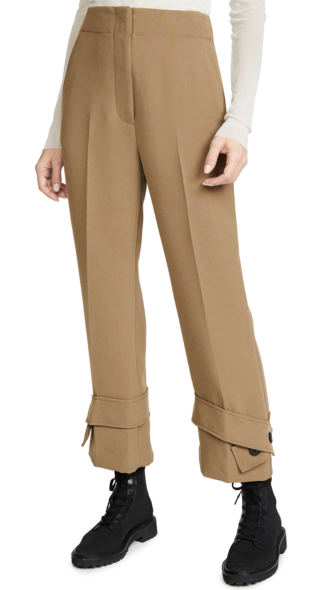 Buy 3.1 Phillip Lim online - photo of 3.1 Phillip Lim Trousers with Belted Cuff Pants