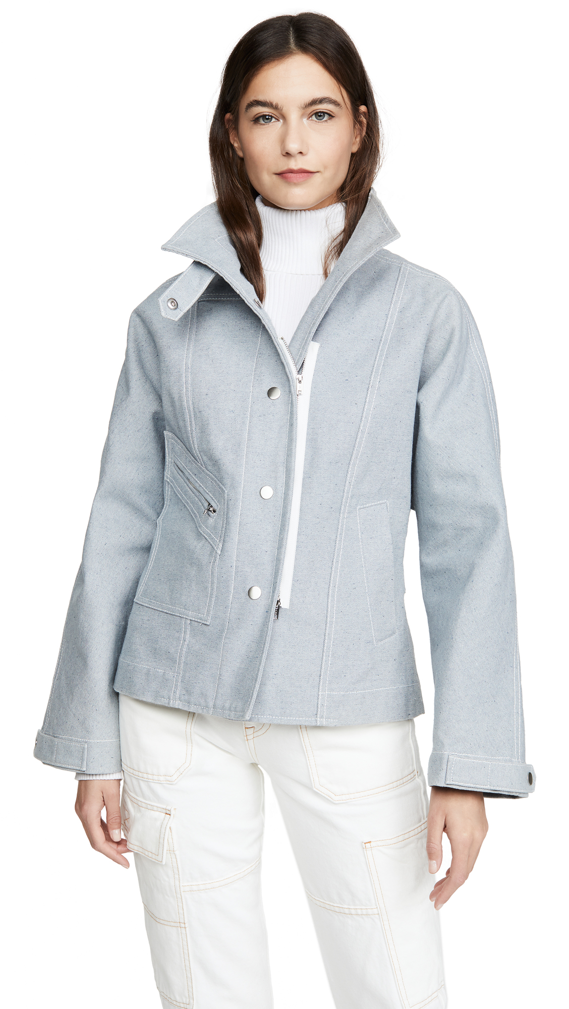 Buy 3.1 Phillip Lim Denim Biker Jacket online beautiful 3.1 Phillip Lim Clothing, Jackets