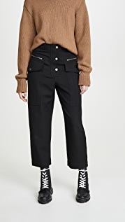 3.1 Phillip Lim Wool Snap Cargo Pants