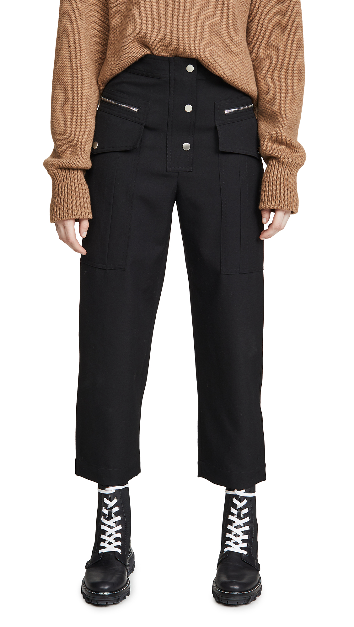 Buy 3.1 Phillip Lim online - photo of 3.1 Phillip Lim Wool Snap Cargo Pants
