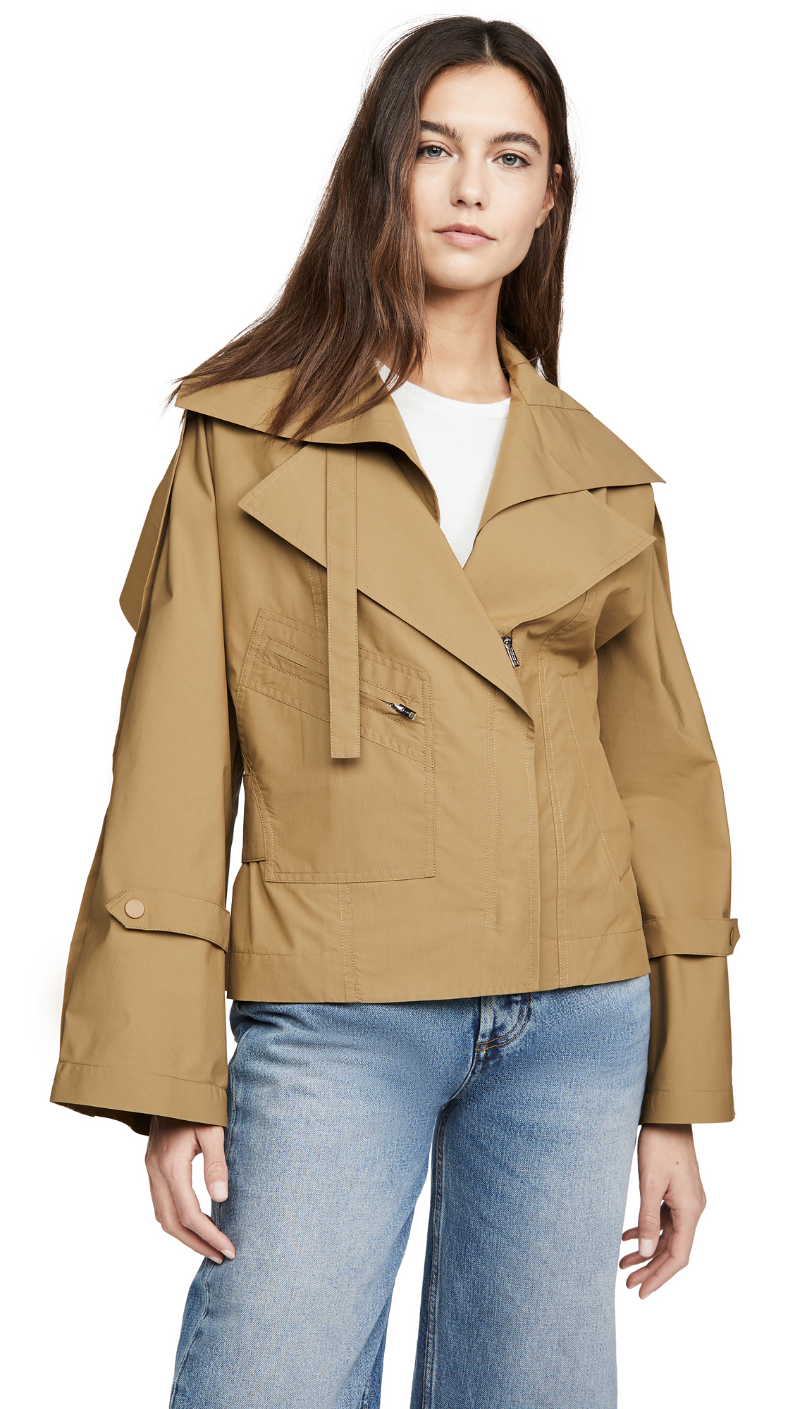 Buy 3.1 Phillip Lim Detachable Collar Jacket online beautiful 3.1 Phillip Lim Clothing, Jackets