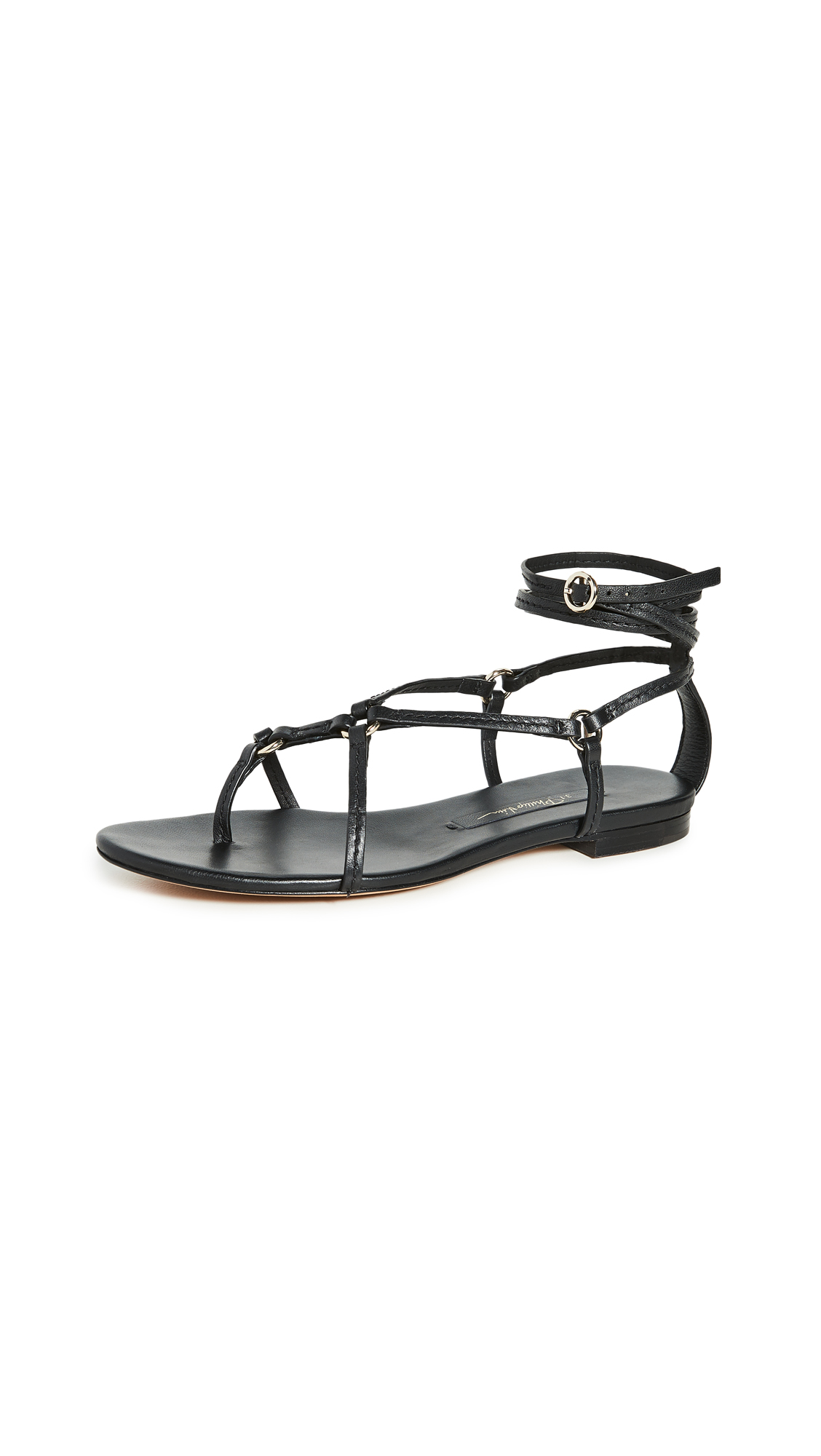 Buy 3.1 Phillip Lim online - photo of 3.1 Phillip Lim Louise Strappy Flat Sandals