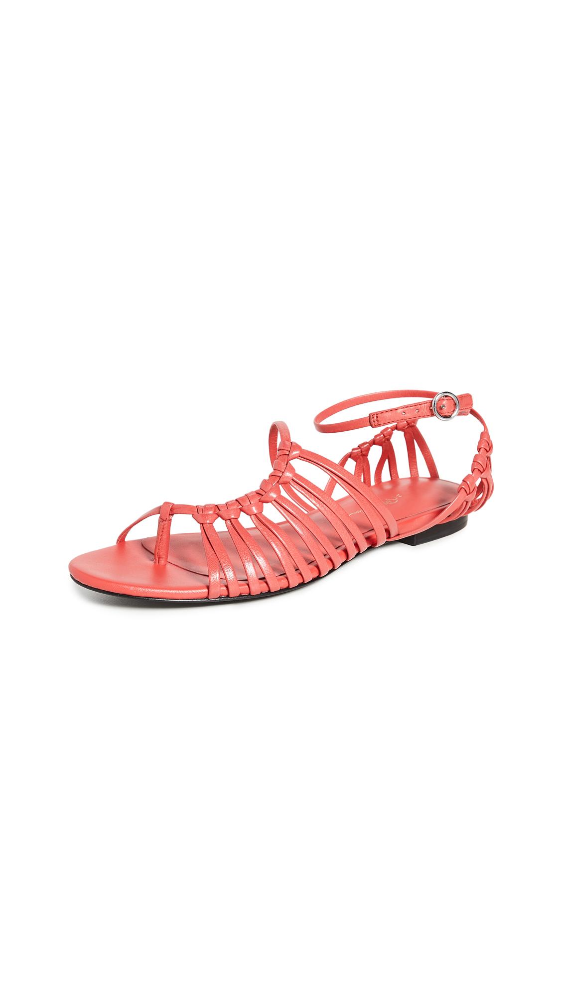 Buy 3.1 Phillip Lim Lily Flat Sandals online, shop 3.1 Phillip Lim