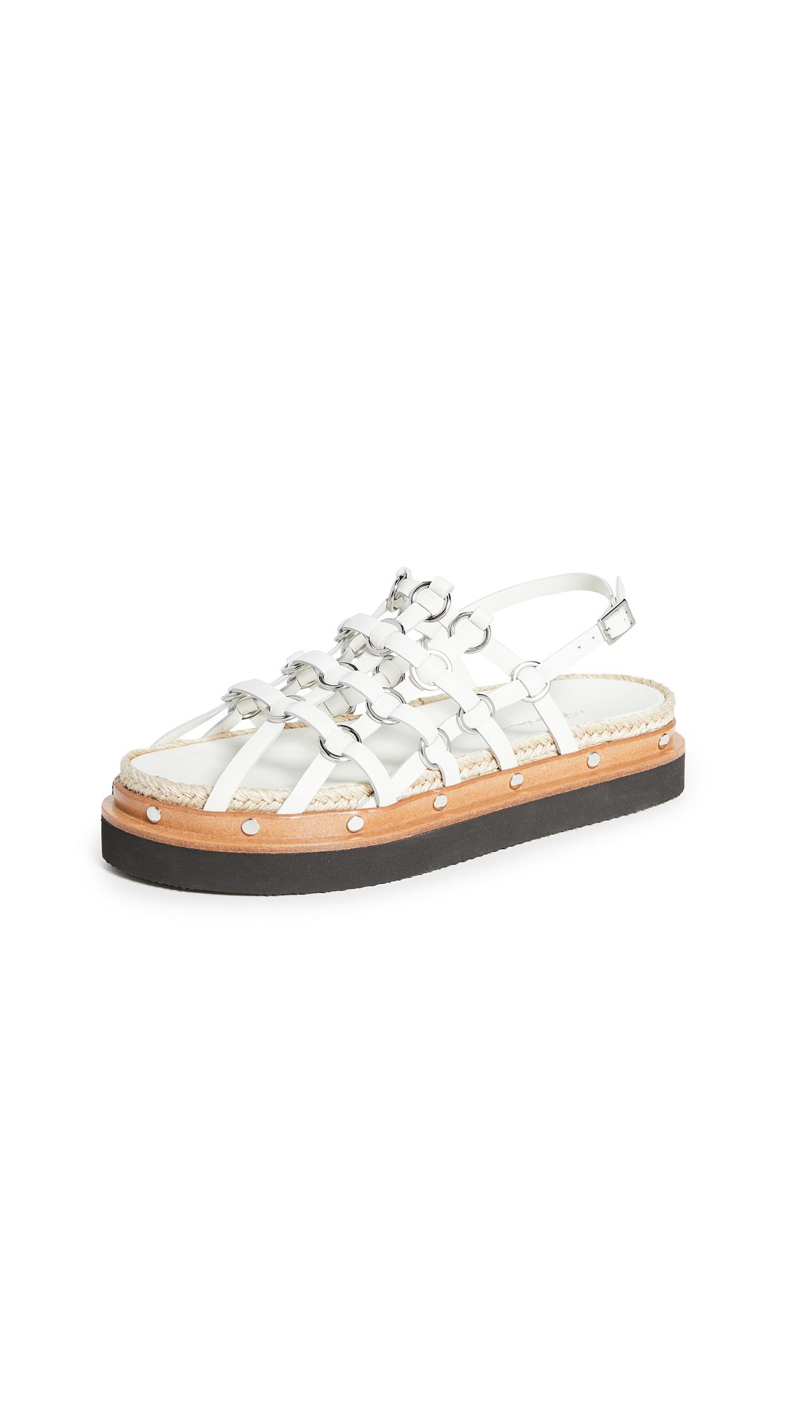 Buy 3.1 Phillip Lim Yasmine Cage Espadrille Platform Sandals online, shop 3.1 Phillip Lim