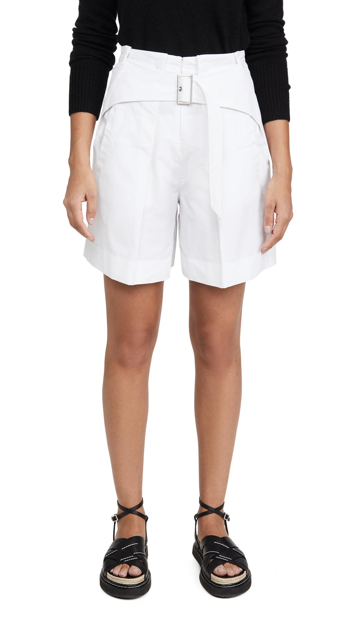 Buy 3.1 Phillip Lim online - photo of 3.1 Phillip Lim Utility Belted High Waist Shorts