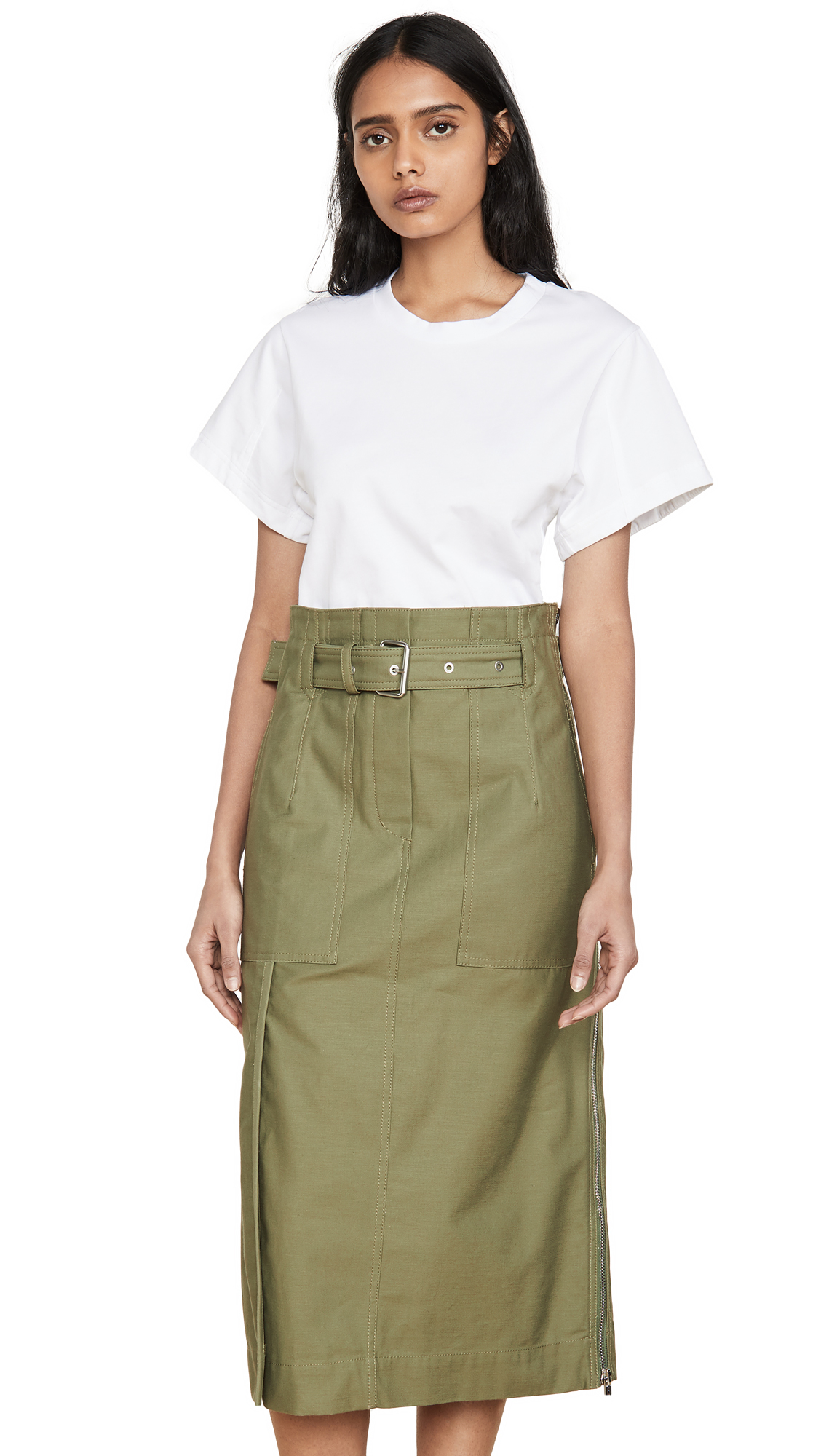 Buy 3.1 Phillip Lim online - photo of 3.1 Phillip Lim Belted Cargo Dress