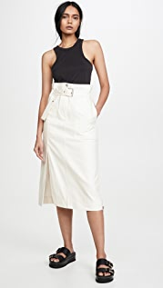 3.1 Phillip Lim 系腰带工装中长半身裙