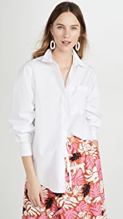 3.1 Phillip Lim Long Sleeve Shirt with Gathered Sleeves
