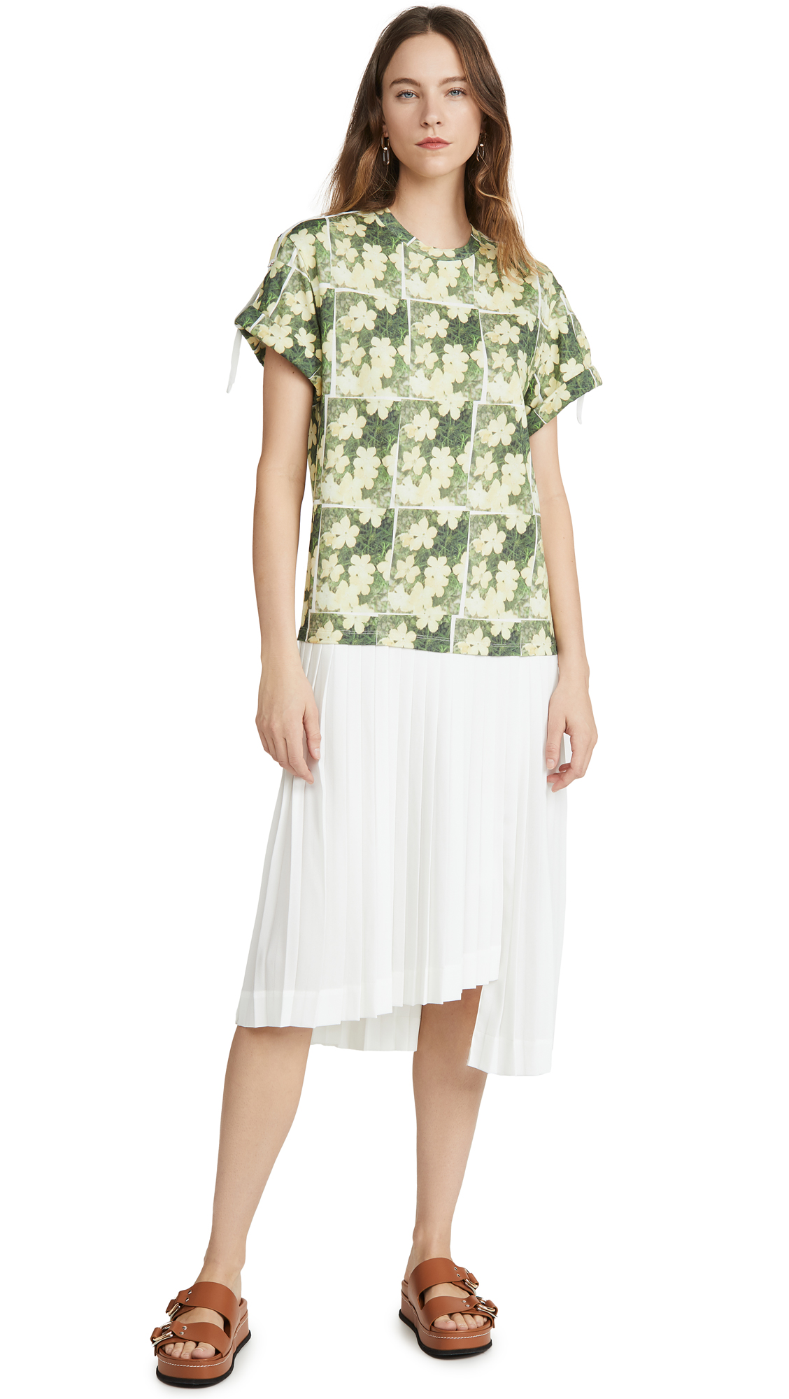 Buy 3.1 Phillip Lim Daisy Printed Pleated T Shirt Dress online beautiful 3.1 Phillip Lim Clothing, Dresses