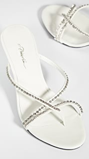 3.1 Phillip Lim Kiddie Strappy Rhinestone Sandals 55mm