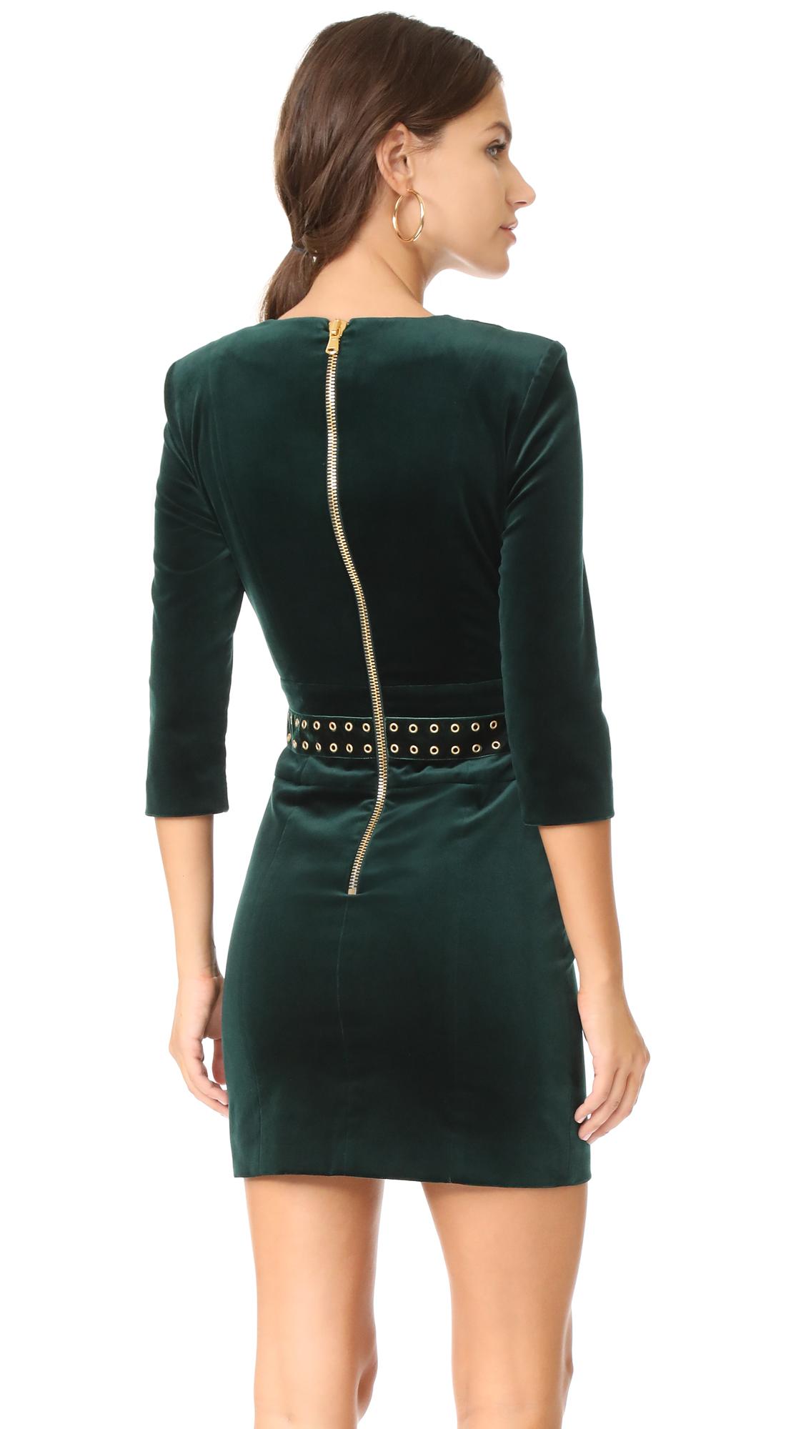 afd342fd Pierre Balmain Velvet Mini Dress | SHOPBOP