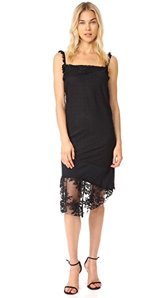 Pierre Balmain Lace Slip Dress - Black