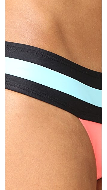 PilyQ Banded Colorblock Bottoms