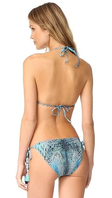 PilyQ Mix It Up Triangle Bikini Top