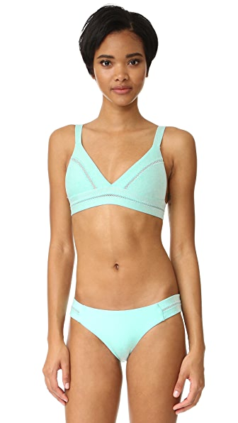 PilyQ Stitched Ellie Bikini Top