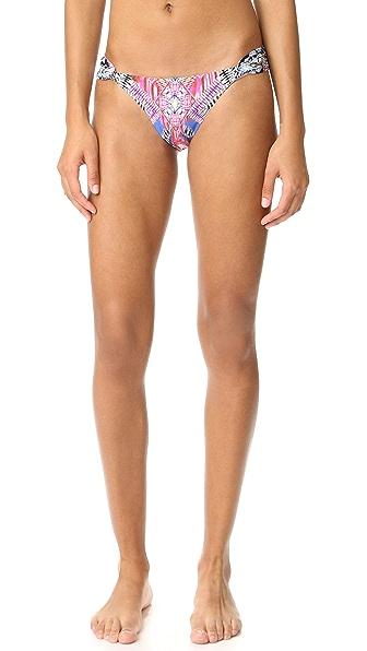 PilyQ Fanned Bikini Bottoms