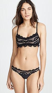 efc34ee3a9838 PilyQ. Lace Bralette Bikini Top