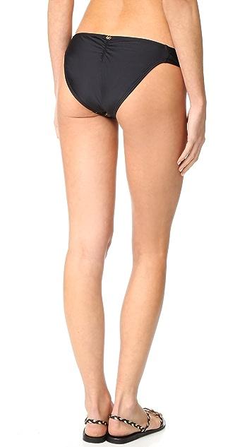PilyQ Lace Fanned Bikini Bottoms