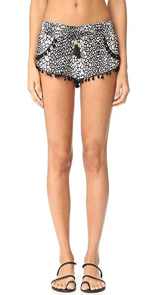 PilyQ Pom Pom Shorts