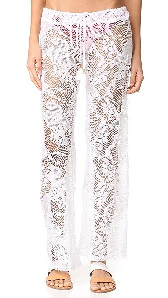 PilyQ Flora Lace Pants