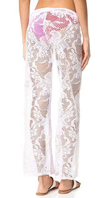 PilyQ Flora Lace Pants