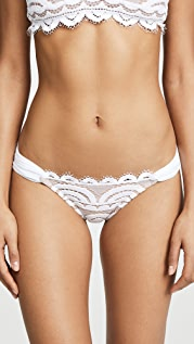 PQ Swim Lace Fanned Full Bikini Bottoms