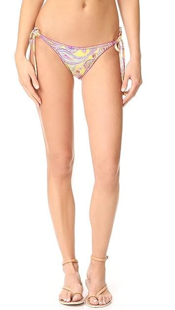 PilyQ Stitched Full Bikini Bottoms