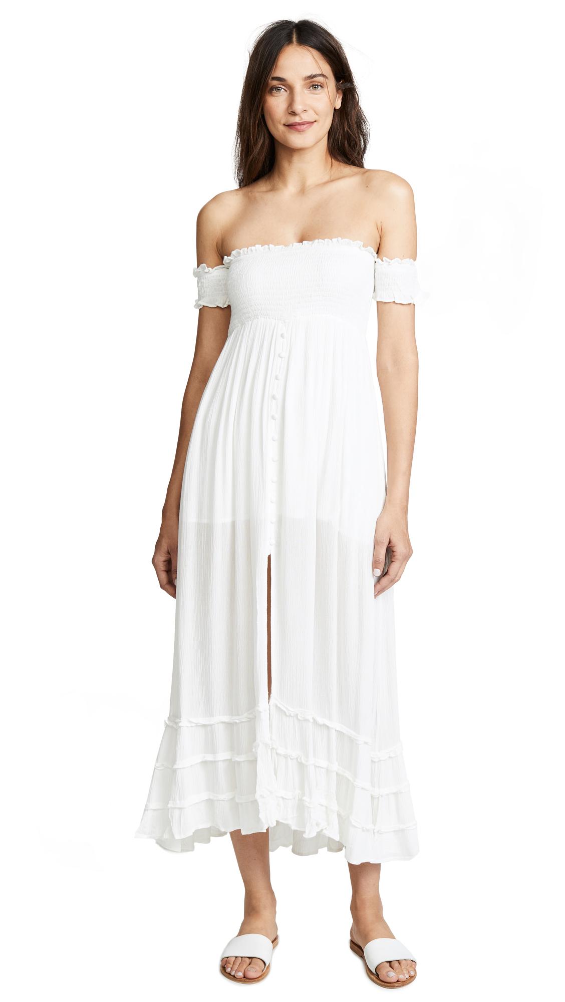 PilyQ Mishell Dress - White