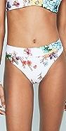 PilyQ High Waisted Bikini Bottoms