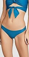 PQ Swim Basic Ruched Full Bikini Bottoms