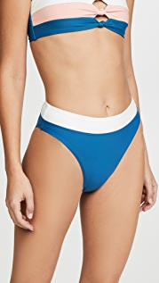 PQ Swim High Waisted Full Bikini Bottoms