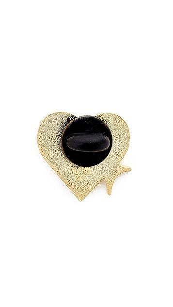 Pintrill Shiny Heart Pin