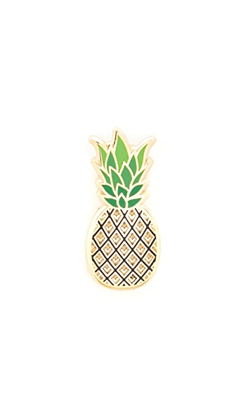 Pintrill Pineapple Pin - Multi