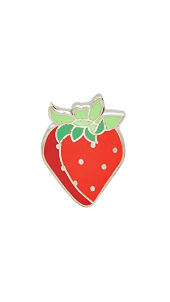 Pintrill Strawberry Pin at Shopbop