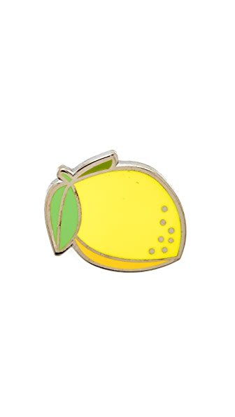Pintrill Lemon Pin at Shopbop
