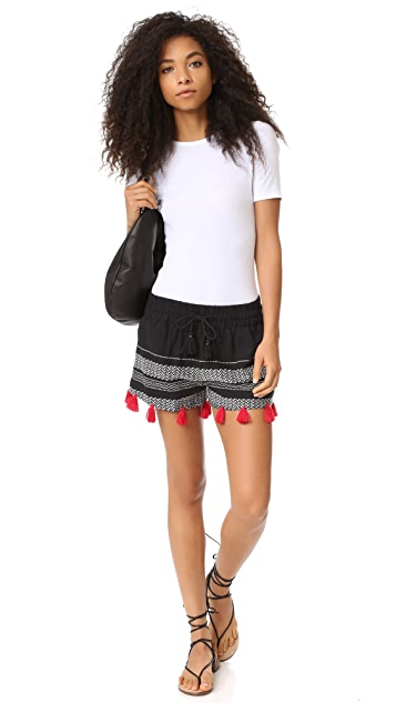 Piper Tassle Shorts