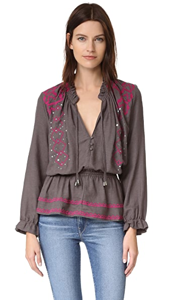 Piper Embroidered Blouse