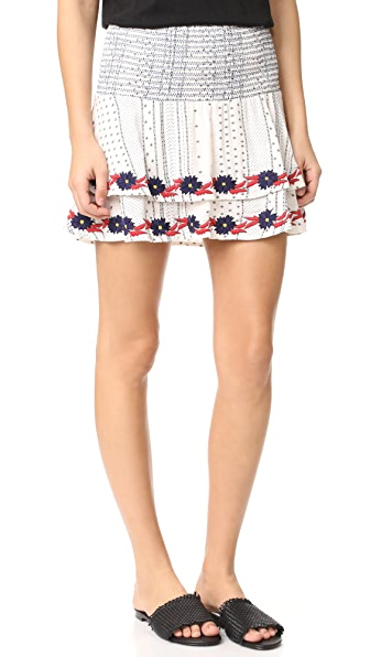 Piper Margo Skirt - White