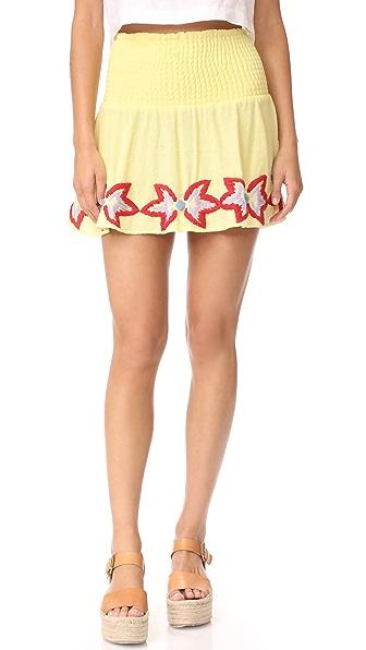 Piper Sydney Miniskirt In Lemonade