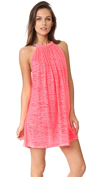 Pitusa Aegean Mini Cover Up - Hot Pink
