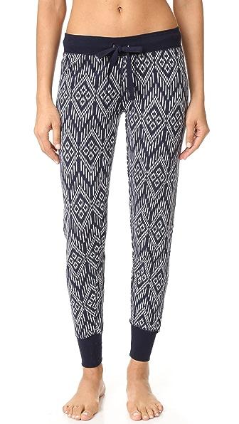 Пижамные брюки PJ Salvage с рисунком в стиле батика