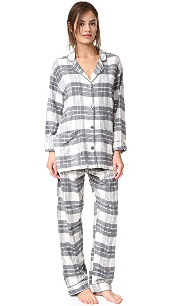 Пижама в клетку PJ Salvage