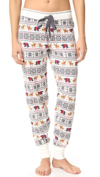 PJ Salvage Mountain PJ Pants - Natural
